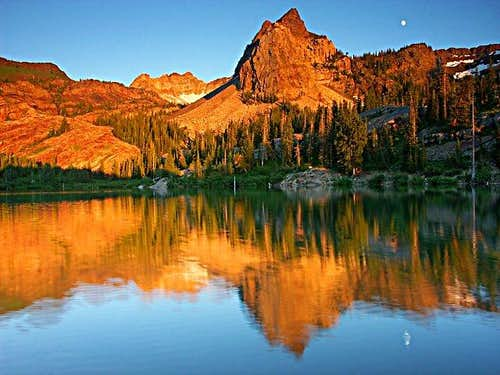Sundial and Lake Blanche were...