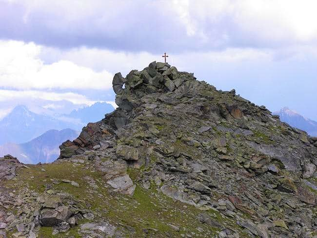 Becca Pouignenta N (2827 m) -...