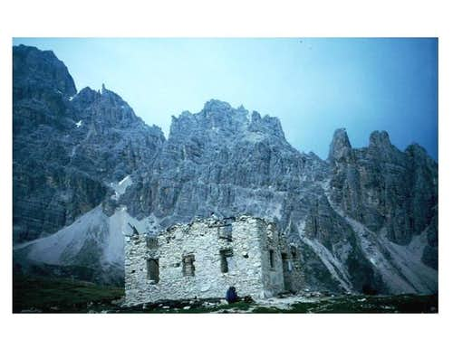 A ruin of Rif. Popena and the...