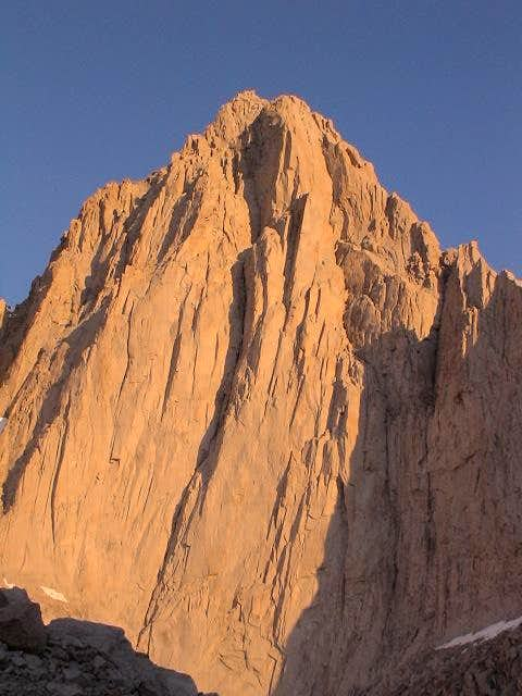 Sunrise on East Face (June...