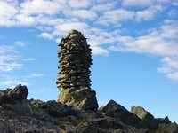 The monster cairn of Culebra...