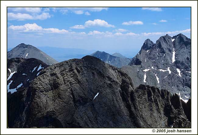 View from Kit Carson Summit...