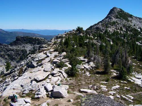 Summit of Mount Roothaan...