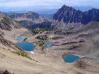 Four Lakes Basin & Merriam Peak