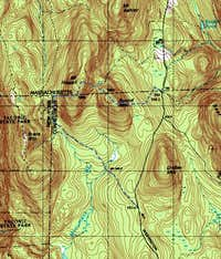 Mt. Frissell Trail Map