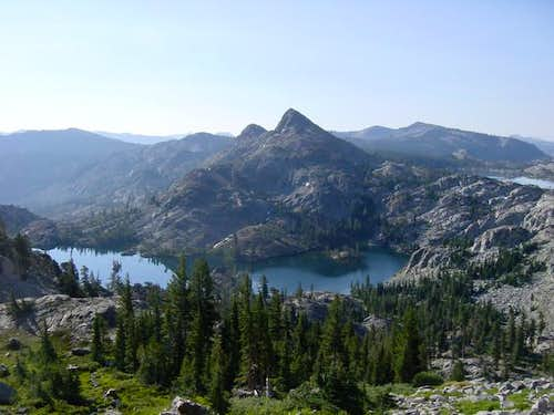 Cracked Crag and Heather Lake...