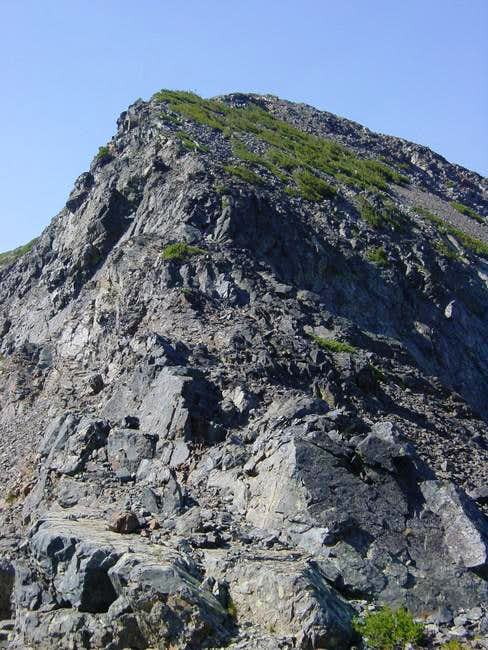 North Ridge of Jacks Peak,...