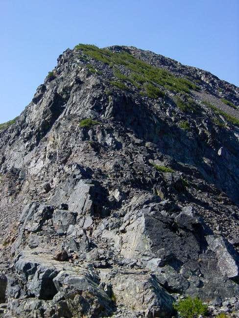 North Ridge of Jacks Peak,...