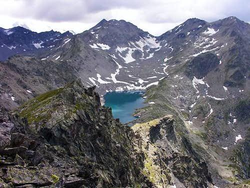 Pietra Rossa lake (2558 m)...