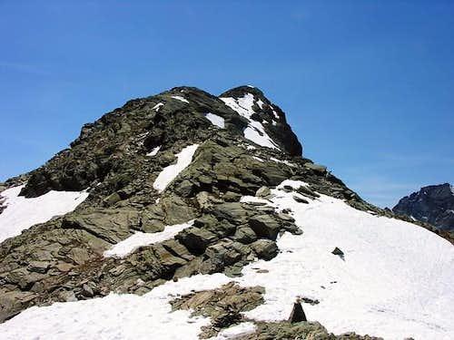 East slope of Punta de la...
