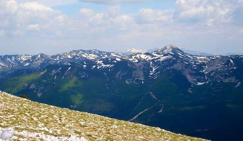 View from Veliki Vran