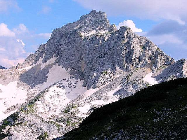 Bezimeni Vrh from Alisnica Valley