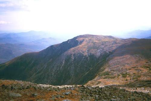 The top of Tuckerman Ravine.