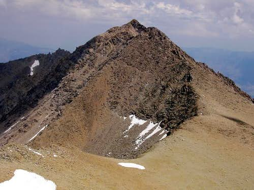 Mt Keith\'s SW Ridge from...