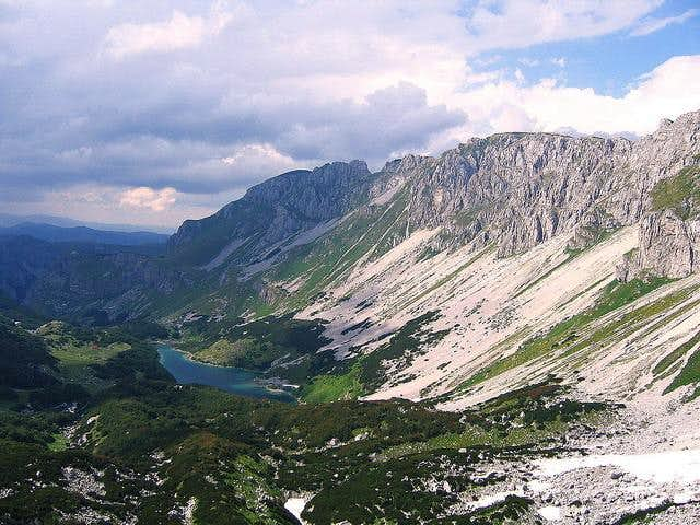 Planinica massif