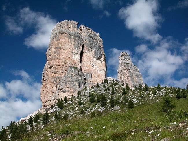 Cinque Torri: Torre Grande...