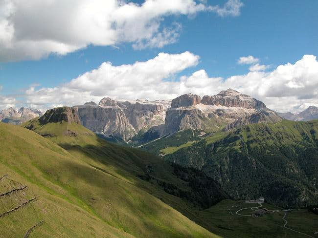 Sella Group as seen from...