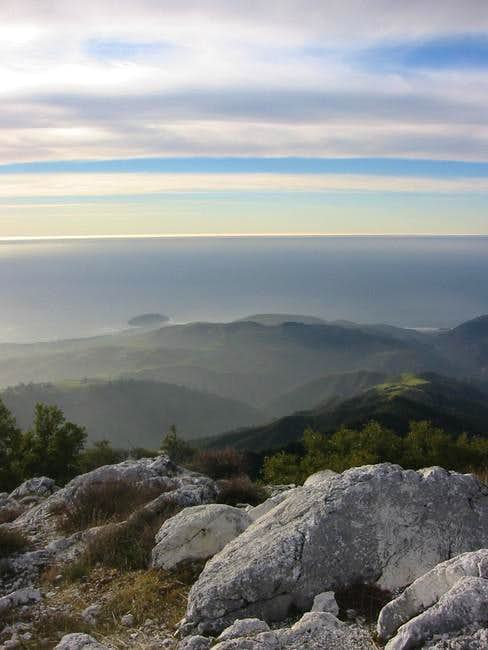 View over the Big Sur...