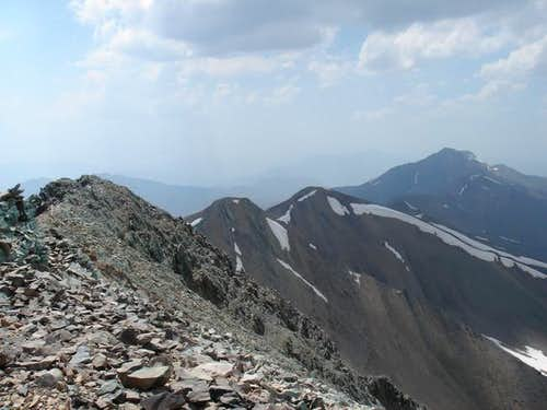 A view of the western ridge...