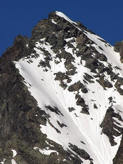 Becca Nera (3263 m) view from...