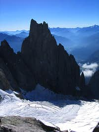 Aiguille Noire and Freney...