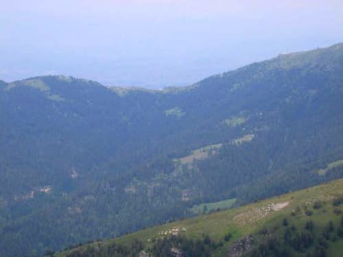 Nidze mountain - view toward...