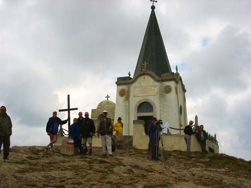Nidze mountain - small church...