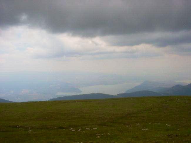 Nidze mountain - view from...