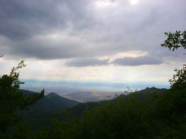 Nidze mountain - after the...