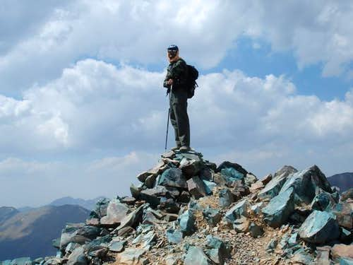 At the summit (July 15, 2005)