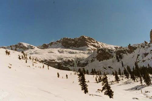 Alta Peak, seen from the Pear...