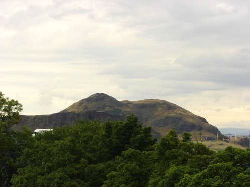 Arthur's Seat as seen from...