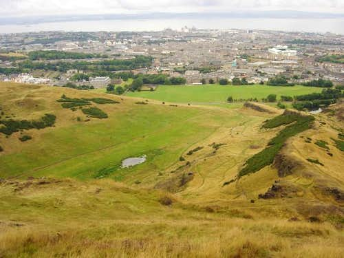 From Arthur\'s Seat back...