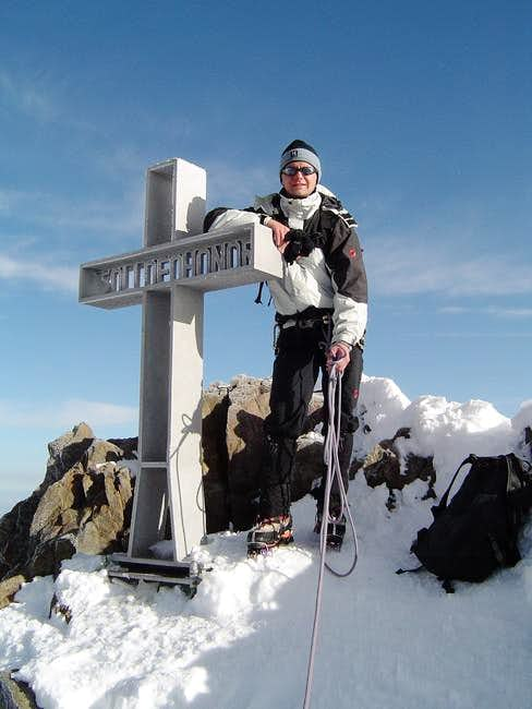 Me on the summit of...