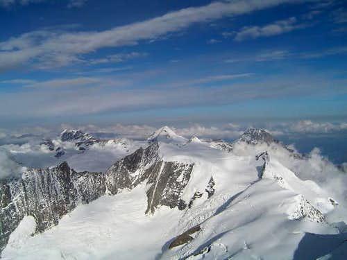 Jungfrau, Mönch and Eiger...