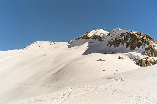 Winter Alta Peak seen from...