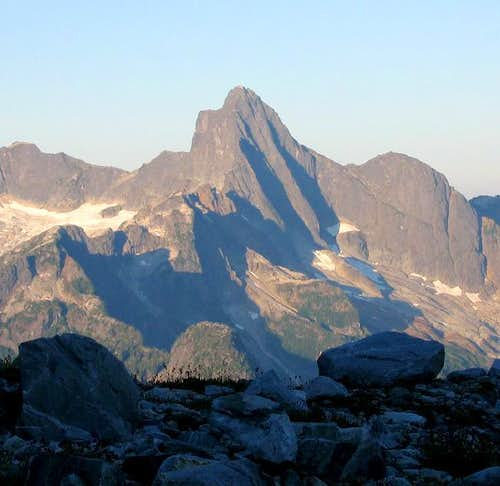 Mount Triumph from the...