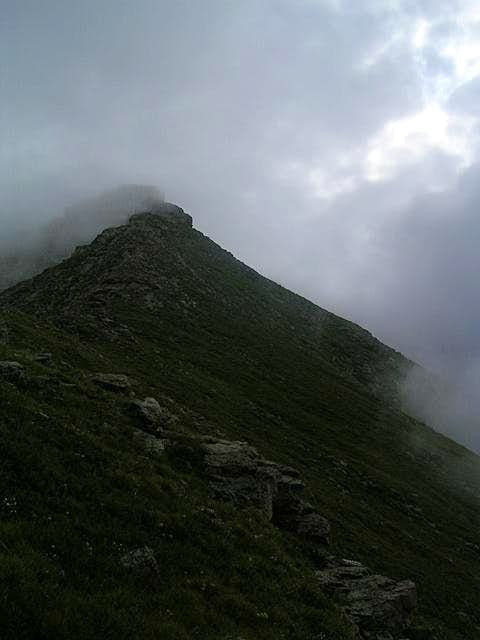 Fun weather on the ascent of...