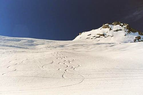 Spoon tracks below Winter...