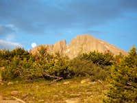 Aug. '04 View of Longs Peak...