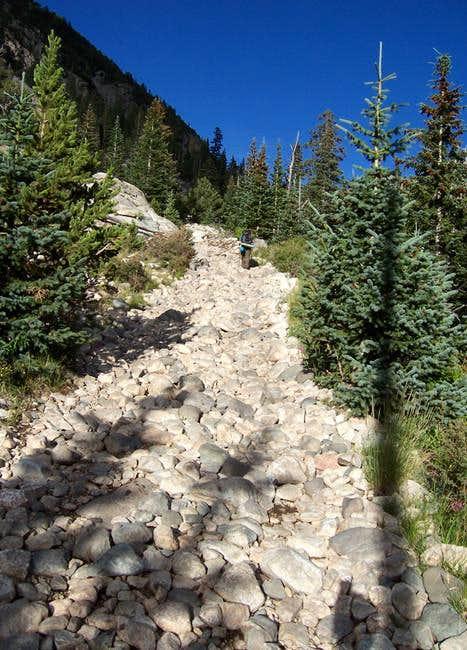 The Como Trail sometimes...