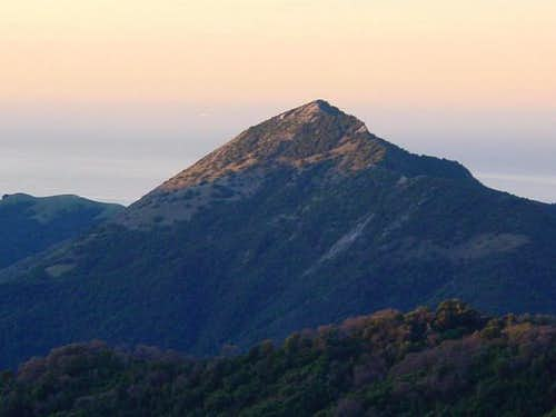 Pico Blanco from the north at...