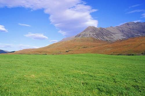 Cuillin ridge as viewed from...