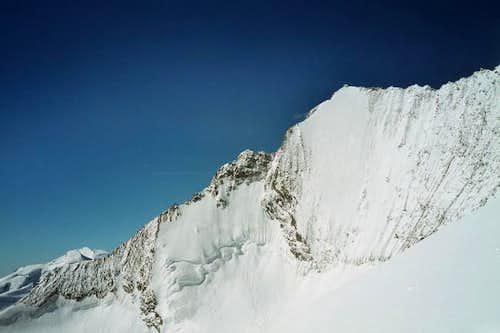 Lenzspitze northside