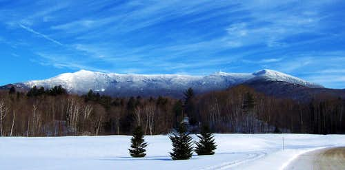 Mt. Mansfield from the...