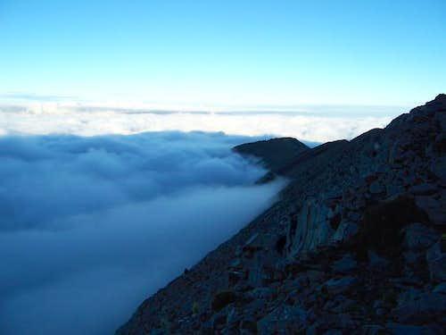The West Ridge of Little Bear...