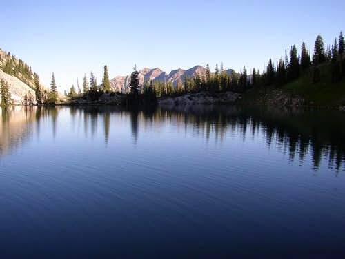 Morning at Red Pine Lake...