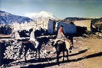 On horseback to Orizaba...