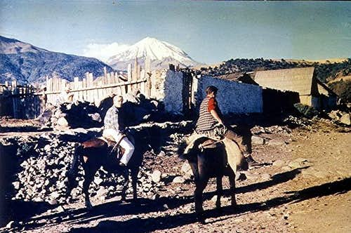 On horseback to Orizaba...