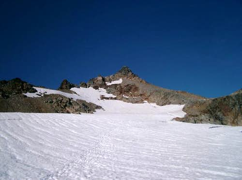 Sahale Pinnacle from the...